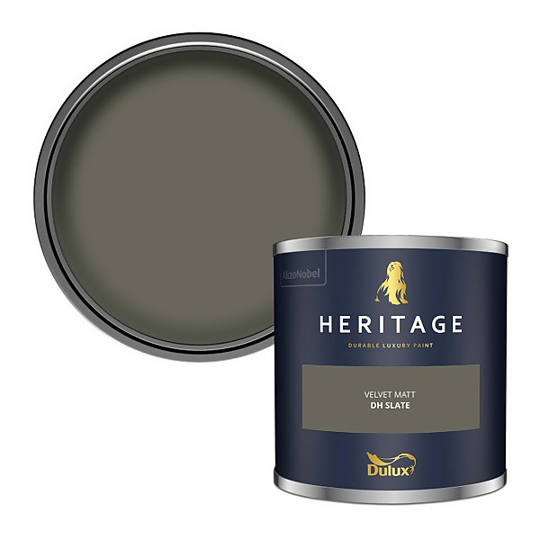 Dulux Heritage Colour Tester - DH Slate - 125ml