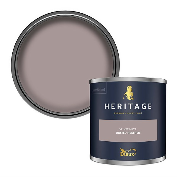 Dulux Heritage Colour Tester - Dusted Heather - 125ml