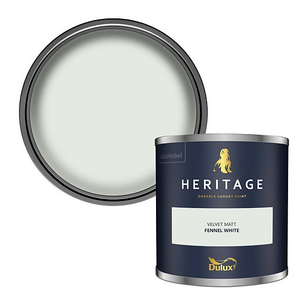 Dulux Heritage Colour Tester - Fennel White - 125ml