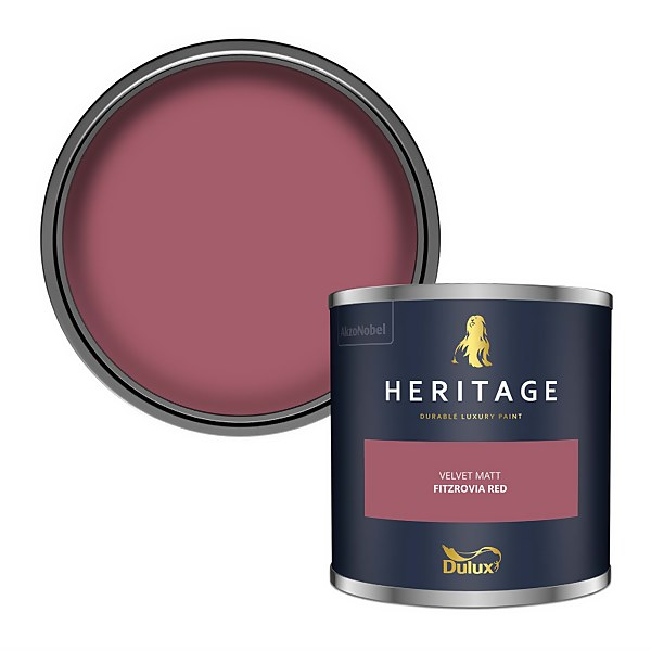 Dulux Heritage Colour Tester - Fitzrovia Red - 125ml