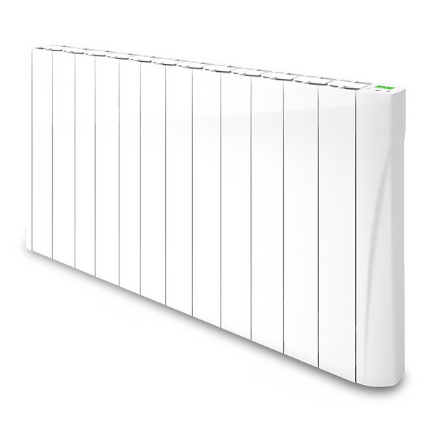 TCP Wall Mounted Smart Wi-Fi Oil Filled Radiator 1500W - White