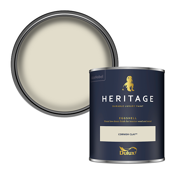 Dulux Heritage Eggshell Paint - Cornish Clay - 750ml