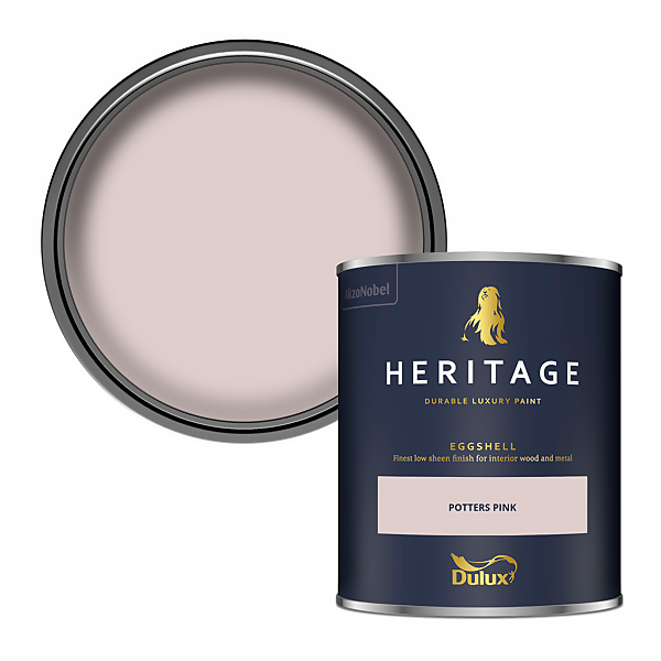 Dulux Heritage Eggshell Paint - Potters Pink - 750ml