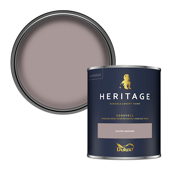 Dulux Heritage Eggshell Paint - Dusted Heather - 750ml