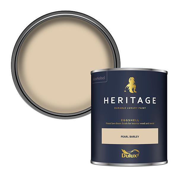 Dulux Heritage Eggshell Paint - Pearl Barley - 750ml