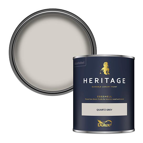 Dulux Heritage Eggshell Paint - Quartz Grey - 750ml