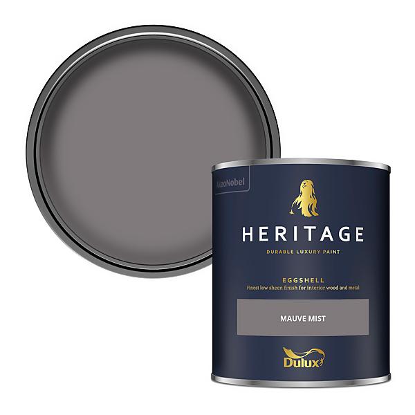 Dulux Heritage Eggshell Paint - Mauve Mist - 750ml