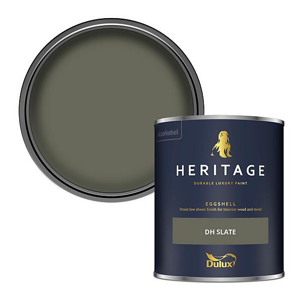 Dulux Heritage Eggshell Paint - DH Slate - 750ml