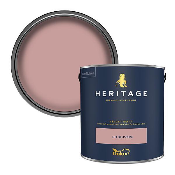 Dulux Heritage Matt Emulsion Paint - DH Blossom - 2.5L