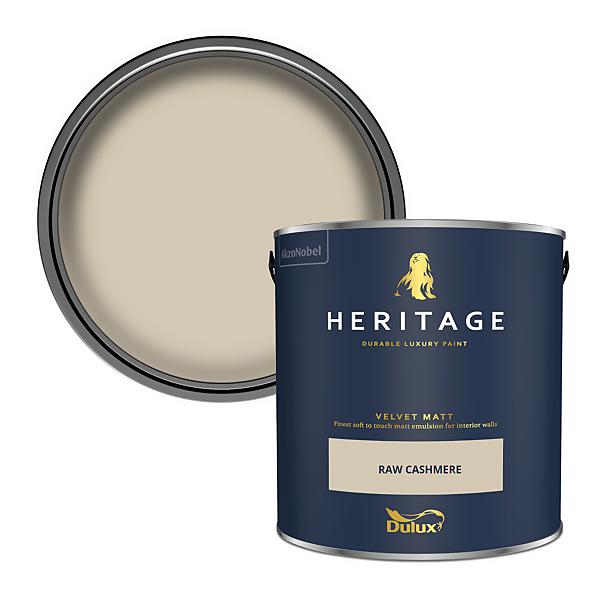 Dulux Heritage Matt Emulsion Paint - Raw Cashmere - 2.5L