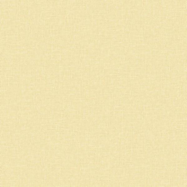 Grandeco Little Florals Linen Plain Yellow Paste the Wall Wallpaper
