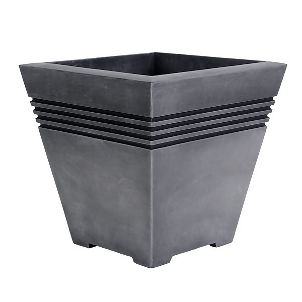 Milano Plastic Planter - 33cm