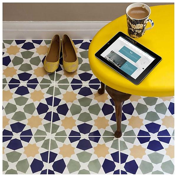 V&A Omar Wall & Floor Tile - 20x20cm