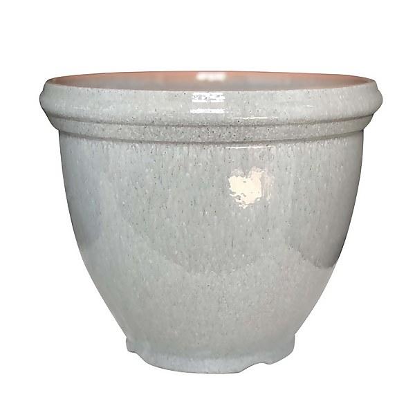 Sissinghurst Slate Round Pot - 38cm