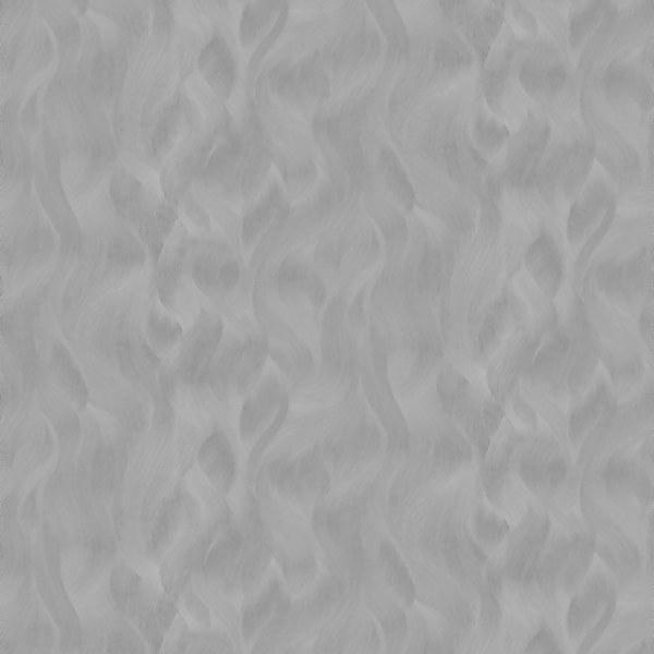 Elle Decoration Wave Silver Wallpaper