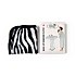 The Vintage Cosmetic Company Make Up Remover Cloths - Zebra