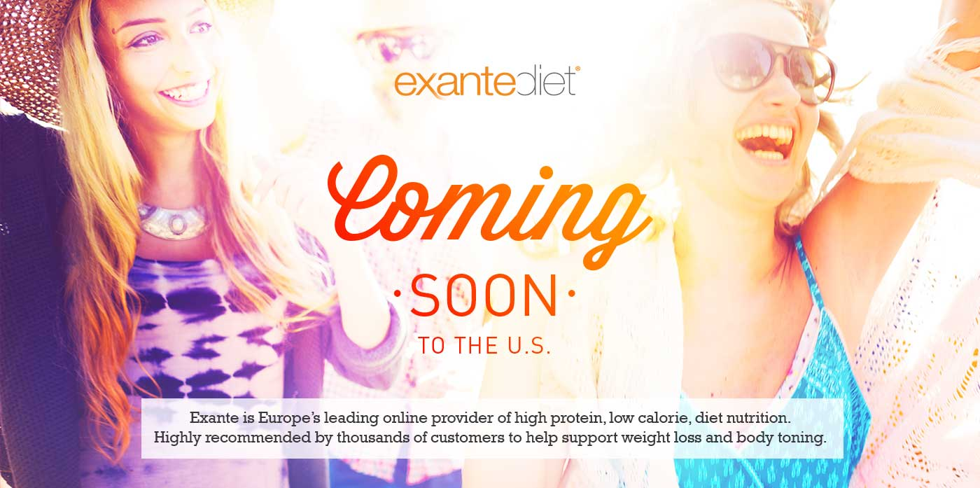 Exante Diet U.S. Header Image | Coming Soon to the U.S.