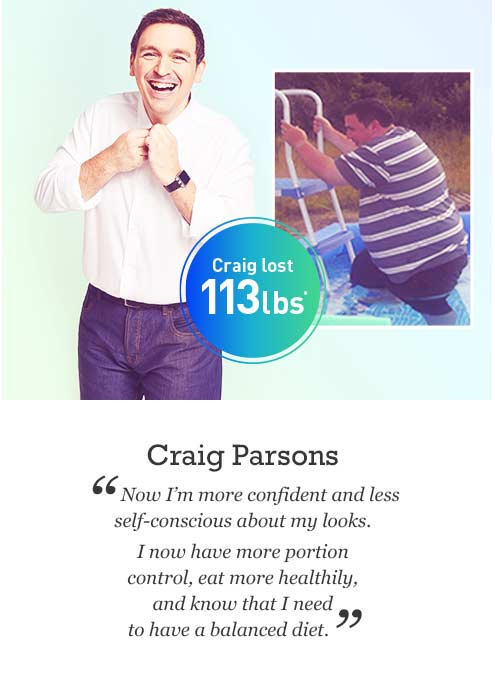 Craig Parson's weight loss story | Exante Diet U.S.