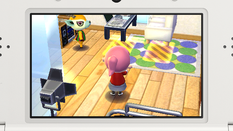 New Nintendo 3Ds + Animal Crossing: Happy Home Designer Pack
