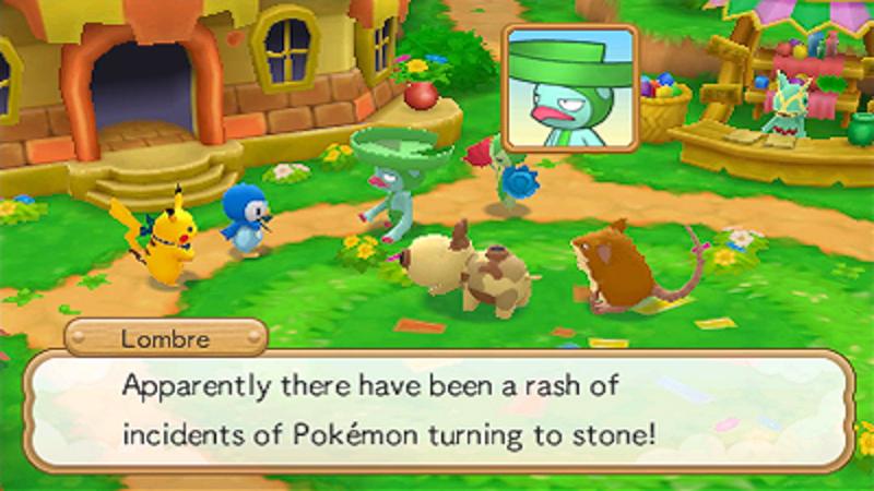 Nintendo 3ds Pokemon Games : Pokémon super mystery dungeon nintendo official uk store