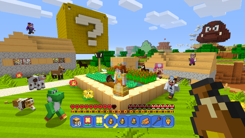 Minecraft Wii U Edition Nintendo Official UK Store - Minecraft wii spielen