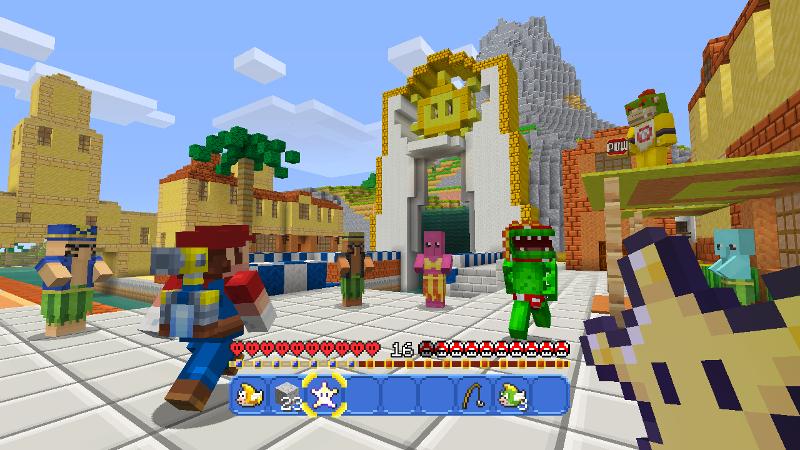 Minecraft Wii U Edition Nintendo Official UK Store - Minecraft mario spiele