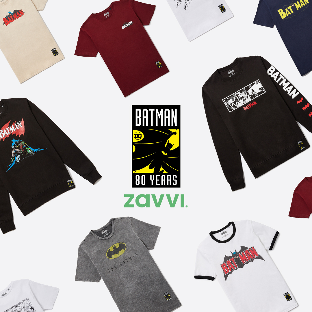 Batman 80th Flat Lay