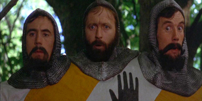 Three Headed Knight in Forest