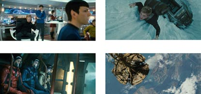 Montage Of Star Trek Scenes