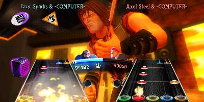 2 player guitar battle