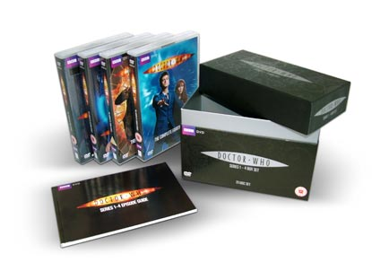 Doctor Who Box Set With Twenty Three Discs