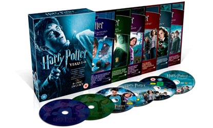 Harry Potter Box Set, Years One To Six With Six Discs