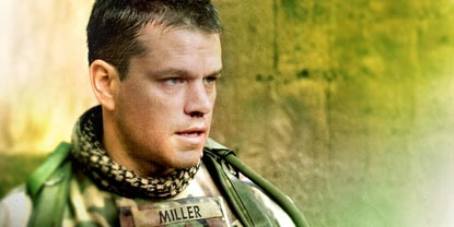Matt Damon As Roy Miller