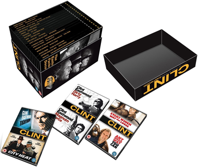 Clint Eastwood Collection - Exploded Packshot