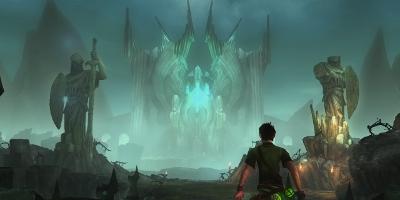 view of evil castle