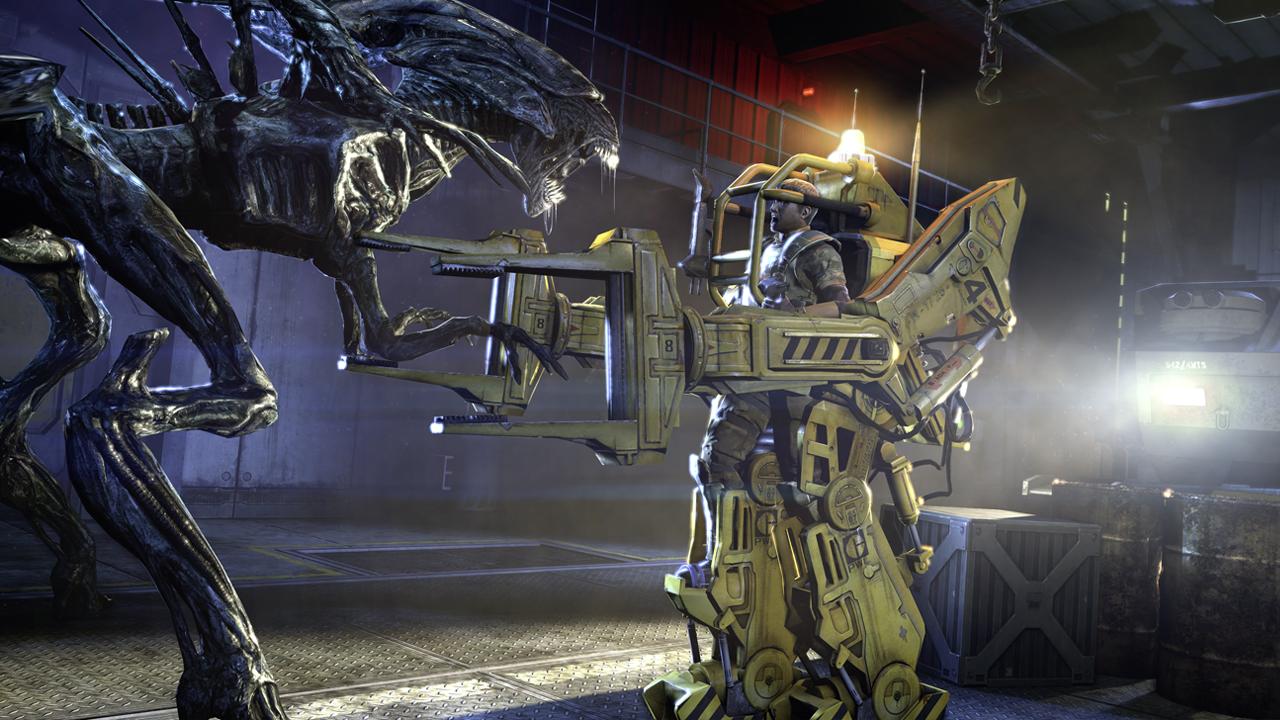 Alien VS Machine