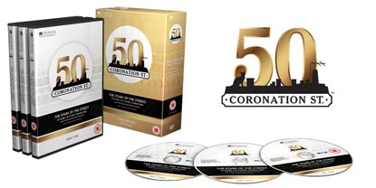 Coronation Street Classic Character Box Set With Three Discs