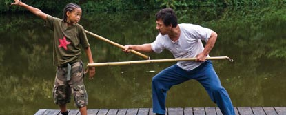 Dre Parker Having A Lesson With Mr. Han