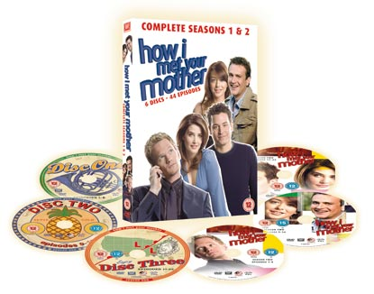 How I Met Your Mother Box Set With Six Discs