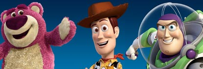 Lotso, Woody And Buzz