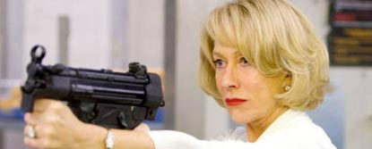 Victoria Played By Helen Mirren Aiming A Gun