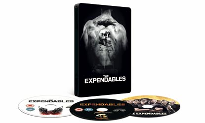 The Expendables Collector's Steel Tin With Three Discs