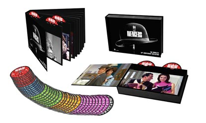 The Complete Avengers Limited Edition Box With Thirty Nine Discs, Dvd Booklet And Comic Strip Booklet