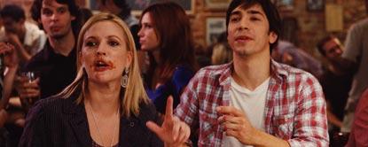 Erin And Garrett Sat In A Bar