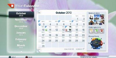 Plan your fitness calendar