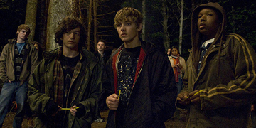 Bug Played By Max Thieriot, Alex Played By John Magaro And Jerome Played By Denzel Whitaker