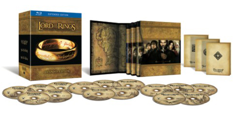 Lord Of The Rings Trilogy Box Set With Fifteen Discs