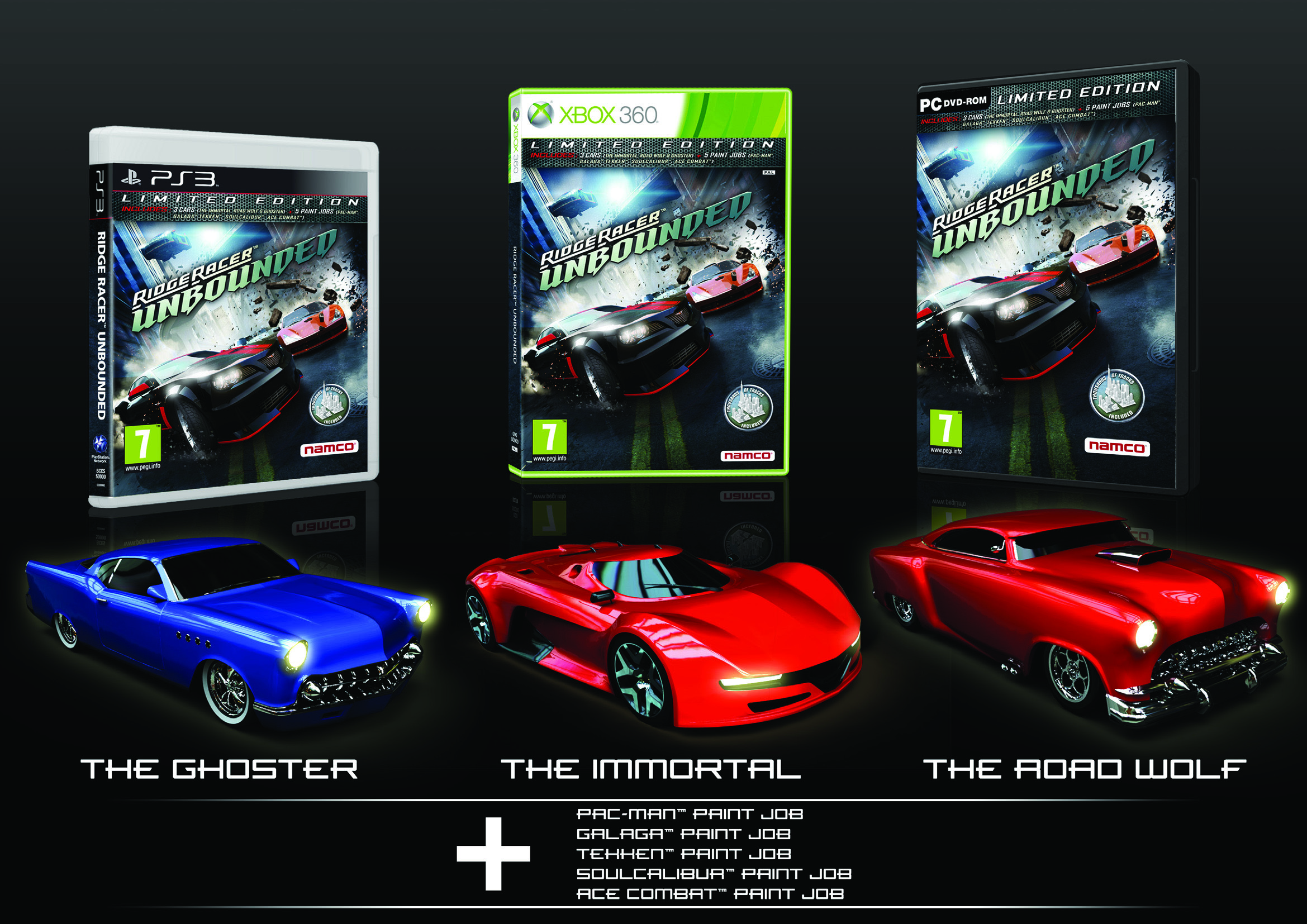 Ridge racer unbounded ps3 zavvi for Deco xbox one