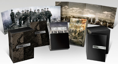 Band Of Brothers And The Pacific Boxes With Artwork