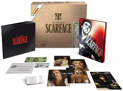 Scarface Box Set And Artcards
